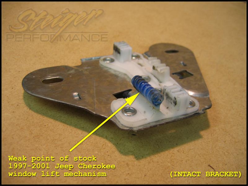 1997 2001 jeep cherokee window regulator repair kit ebay for 1998 jeep cherokee window regulator
